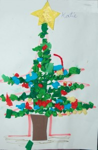 A Christmas Tree, by Katie